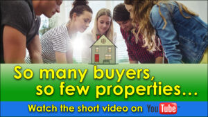 Read more about the article So many buyers, so few properties…