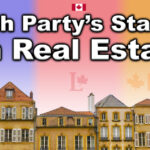 Each Party's Stance On Real Estate