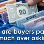 Why are buyers paying so much over asking?